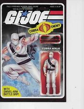 G.I. Joe #217 STORM SHADOW ACTION FIGURE VARIANT COMIC BOOK VF+