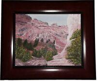 Hickman Natural Bridge, Capitol Reef, Arch, print, Watercolor Print, Utah, art