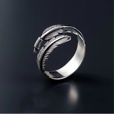 Angel Feather Ring Silver Style When Angels Are Near Feathers Appear Love Token