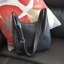 Stone Mountain Women's Purse Handbag Tote Shoulder Bag Zip Closure Black