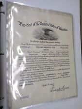 88 Page Book 150+ Different Signatures Follows 1 Soldiers Family Name 1902-1945