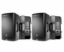 2x JBL EON610 Active Loudspeaker Powered Monitor Speaker Pair (B)