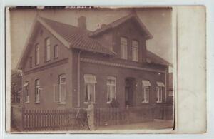 Fotokarte  Wohnhaus Lehrerwohnhaus  Boen  Wymeer Bunde   ca. 1912 Ostfriesland