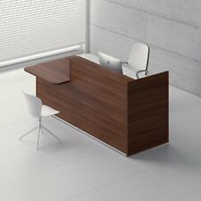 """Tera 81"""" Reception Desk with Counter Top"""