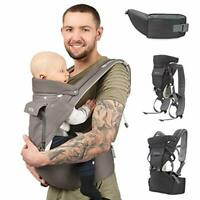Sweety Fox - Multi-Position Baby Carrier with Hip Seat - for Babies & Child from