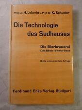 Die Technologie des Sudhauses, H. Leberle, K. Schuster, 1956, 376 num. Seiten