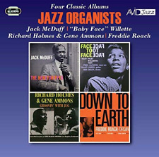 `MCDUFF, JACK; BABY FACE WI...-JAZZ ORGANISTS - 4 CLASSIC ALB (US IMPORT) CD NEW