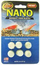 LM Zoo Med Nano Banquet Food Blocks .3 oz (6 Pack)