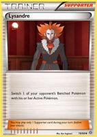 Pokemon 4X TRAINER LYSANDRE 78/98 UNCOMMON MINT CARD ANCIENT ORIGINS