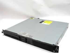 HP ProLiant DL320e Gen8 v2 SFF Xeon E3-1220v3 3.1GHz 16GB RAM P222 512MB DVD