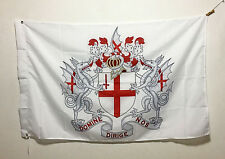 3'X5' Flag Banner Coat of Arms of The City of London Brass grommets 90*150cm