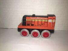 Thomas & Friends Wooden Railway Train Norman Engine 2003 Learning Curve RARE!