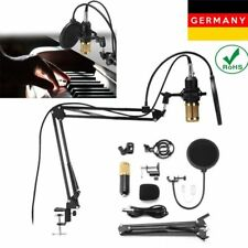 BM-800 USB Kondensatormikrofon mit Tisch-Mikrofonarm Mikrofonstativ Ständer DE