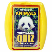 Top Trumps Quiz Animals Edition