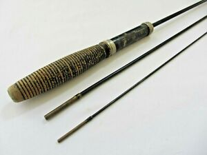 Vintage 3pc Steel Fishing Rod Fits Together Nicely