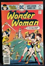 1976 WONDER WOMAN 224 vs United States App Comic vtg key 70s VF HIGH GLOSS