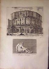 ITALIA/ ITALY.Roma.Rome,teatro Marcelo, Theatre of Marcellus. Barbault,1761