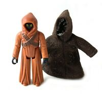 Jawa Vintage Star Wars Action Figure w/ Cloth Cloak 1977 Kenner HK First 12