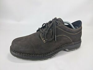 Timberland 77128 Smart Comfort System Brown Leather Oxfords US 10 M