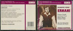 Memories 1991 CD Italy Import Giuseppe Verdi Ernani New York Metropolitan 1965