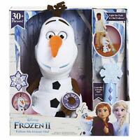 Disney Frozen 2 Follow Me Friend Olaf Interactive Plush Soft Toy Talks + Sings