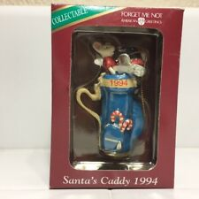 Santa's Caddy 1994 * Forget Me Not American Greetings Collectable Ornament * NIB
