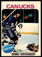 1975-76 O-Pee-Chee Dennis Ververgaert #42
