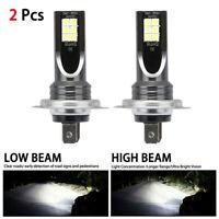 2x H7 LED Headlight Conversion 110W 30000LM 6000K Error Free Canbus Bulb H7