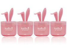 4 Packs RABBICO SWEET Rabbit lovely ear Car, Home Air Freshener White Soap Scent