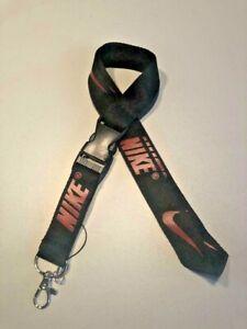 Nike Lanyard Detachable Keychain Badge ID Holder Phone Strap + FREE GIFT