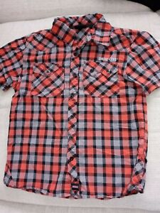 Boy's Dickies Button Up Shirt L 10/12
