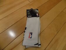 Youth 3-5 Womens 4-6 NIKE Elite Quick NBA Official Basketball Socks Crew White