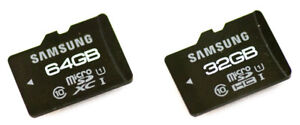 Samsung Micro SDHC cards/ Memory Cards 12GB NEW RETAIL PACK Class 10