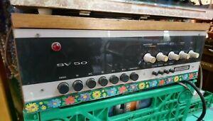 Grundig SV 50 Verstärker + Radio Grundig RT 40 Kombination 1960 volle Funktion