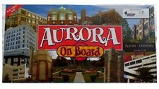 Aurora On Board Illinois First Edition 2006 Monopoly-Type game Rare