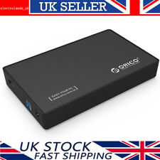 ORICO 3.5 Inch USB 3.0 SATA III 6Gbps Hard Drive External Enclosure UASP -Black
