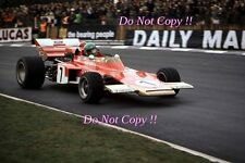 Reine Wissel Gold Leaf Team Lotus 72C F1 Race of Champions 1971 Photograph