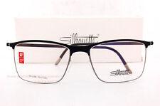 b5bfa0af198 New Silhouette Eyeglass Frames URBAN FUSION FULLRIM 2903 6051 Black Gray SZ  54