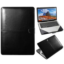 Premium Leather Laptop Folio Sleeve Case Cover Bag For Macbook Air 13 Inch A1932