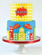 FMM Sugarcraft Wow Cutters Comic Book Cakes