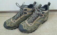 MERRELL GREEN WALKING HIKING TRAIL SHOES TRAINERS 5 38 womens waterproof boots