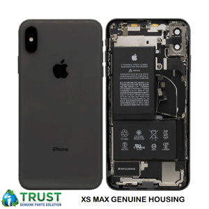 Genuine Apple iPhone X, XR, XS, XS MAX REAR CHASSIS HOUSING WITH PARTS -GRADE A+