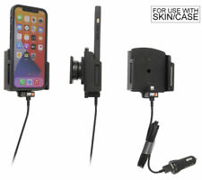 Brodit Halter - Apple iPhone 12/12 Pro/12 Pro Max mit Hülle - USB-Kabel - 721237