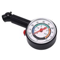 Car Motorcycle0-50psi Dial Wheel Tire Tyre Gauge Meter Pressure Measure TesterBh