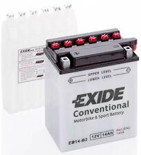 Batterie moto Exide YB14-B2 EB14-B2 12V 14AH 180A 135X90X165MM ACIDE COMPRIS