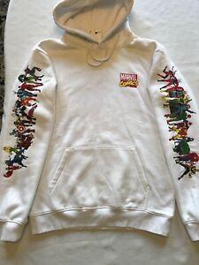 MARVEL SUPERHEROES HOODIES Men's Hooded Sweatshirt NEW Size SMALL