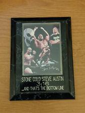 Stone Cold Steve Austin 3:16 Photo Plaque Wrestling WWE WWF 4.5x6