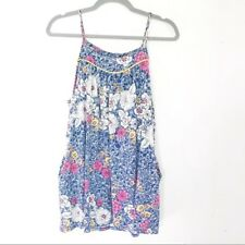 Urban Outfitters Kimchi Blue Floral Swing Women's Tank Top with Pockets, Size S