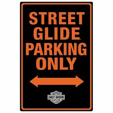 Harley Davidson Motorcycle Sign STREET GLIDE Tin Metal Man Cave 046