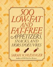 500 Low-Fat and Fat-Free Appetizers, Snacks and: H